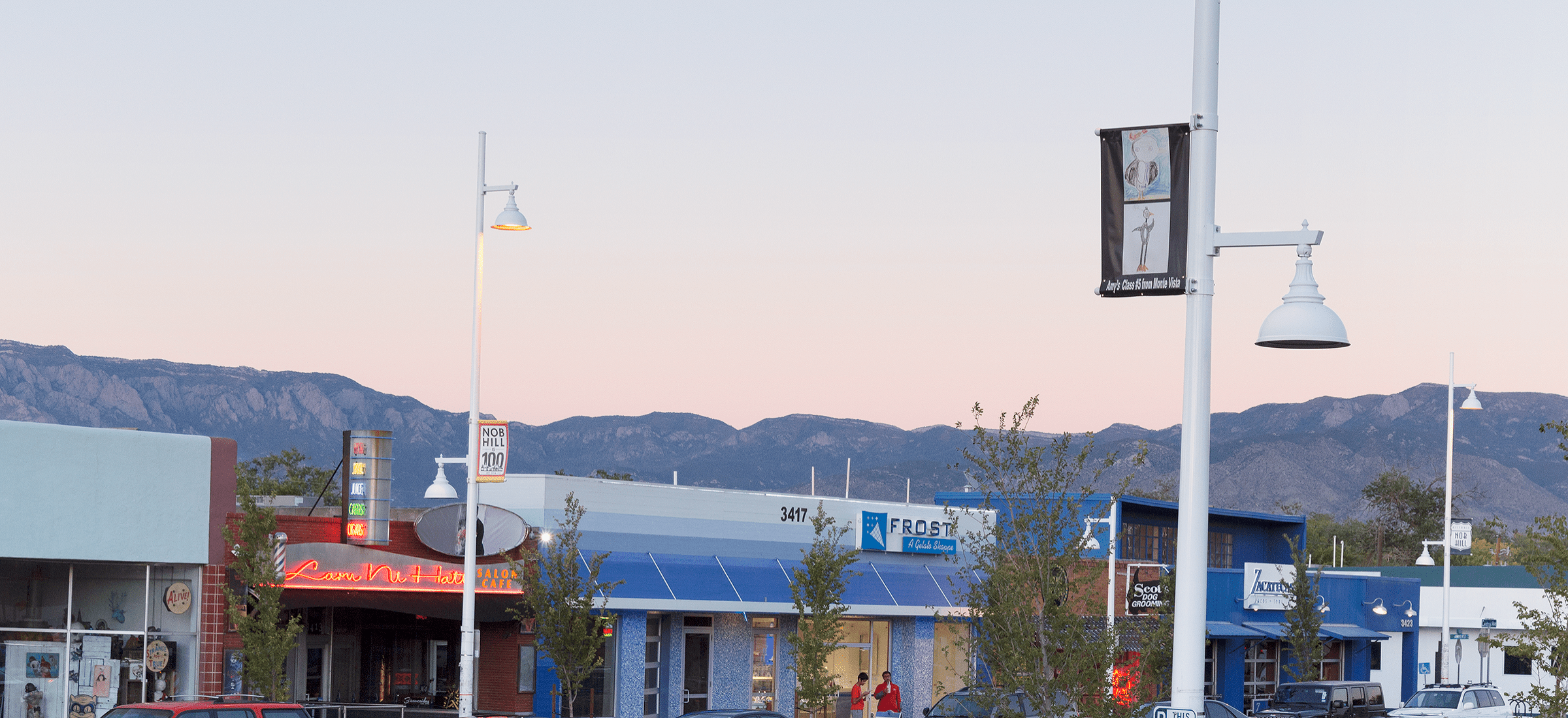 Visit The Nob Hill Shop And Stroll In Albuquerque