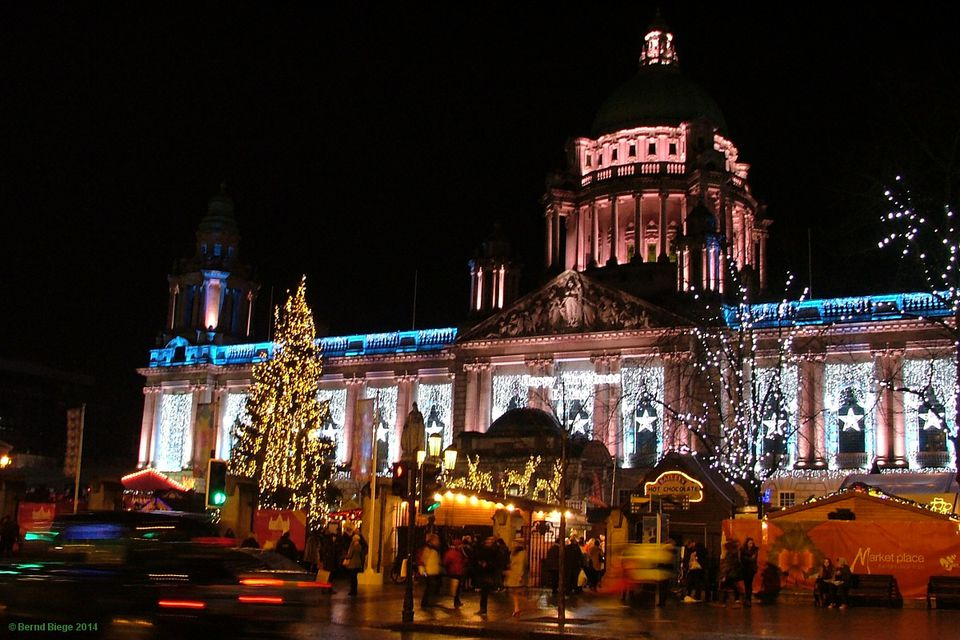 Belfast Market City Hall May Food