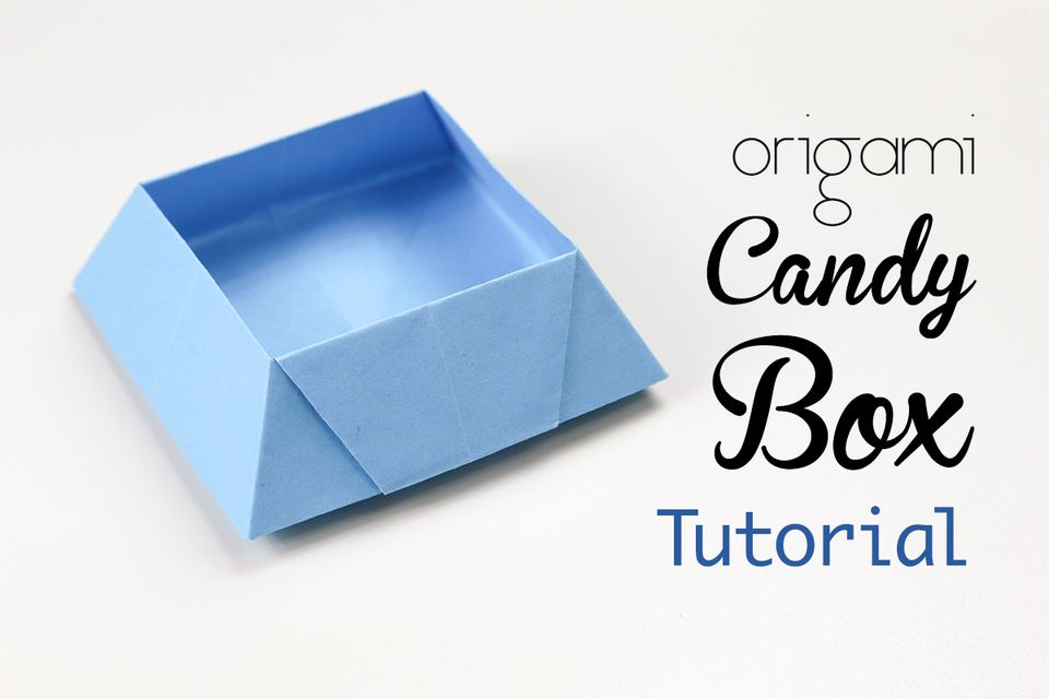 Origami Candy Box Tutorial