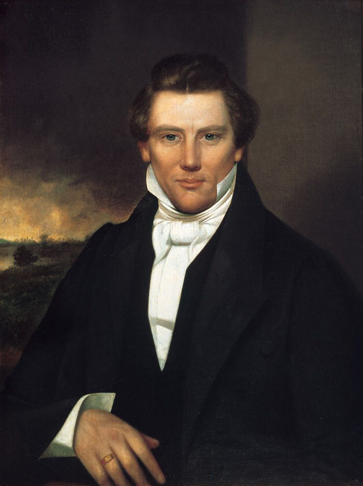 Joseph Smith, Jr. - Religious leader and founder of Mormonism and the Latter Day Saint movement.