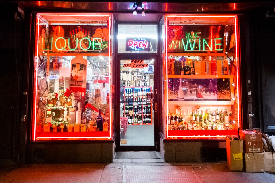 NYC liquor store