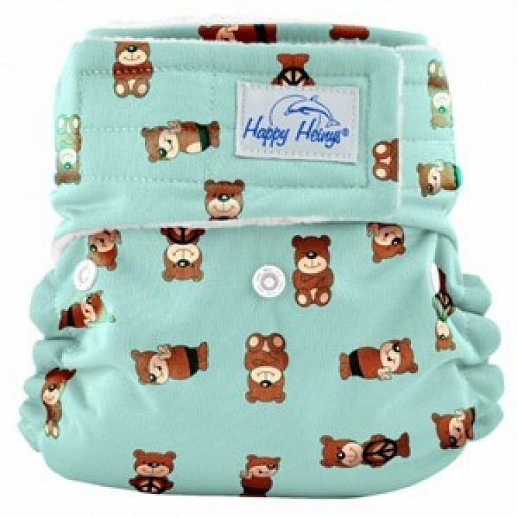 Happy Heinys Organic One Size Pocket Diapers