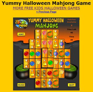 36 FreeHalloween Games for Kids Mahjong Everyday Funny Games