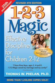 1-2-3 Magic is a parenting book that addresses child behavior problems.