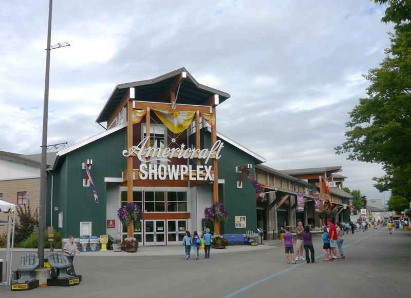 Picture of Showplex Building at the Puyallup Fairgrounds