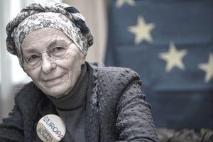 Older woman still working