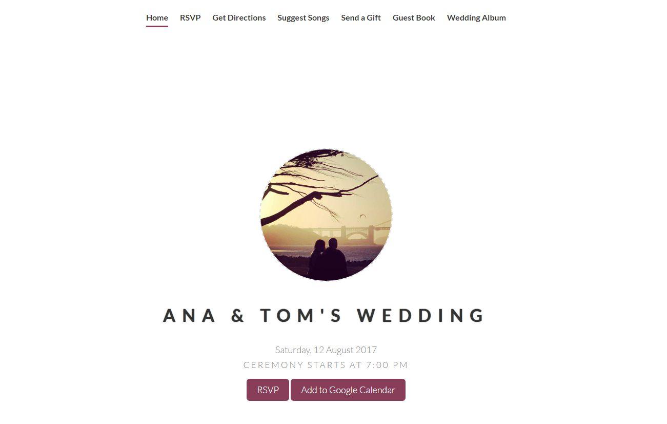 Free line Wedding Invitations