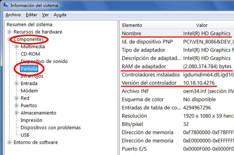 Grafica RAM Video