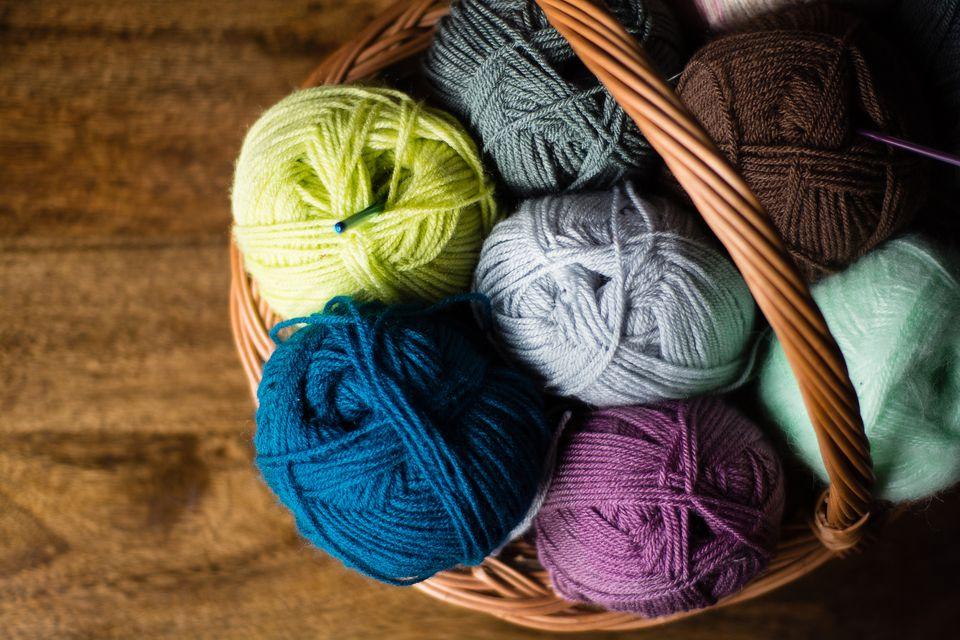 Basket Full of Yarn