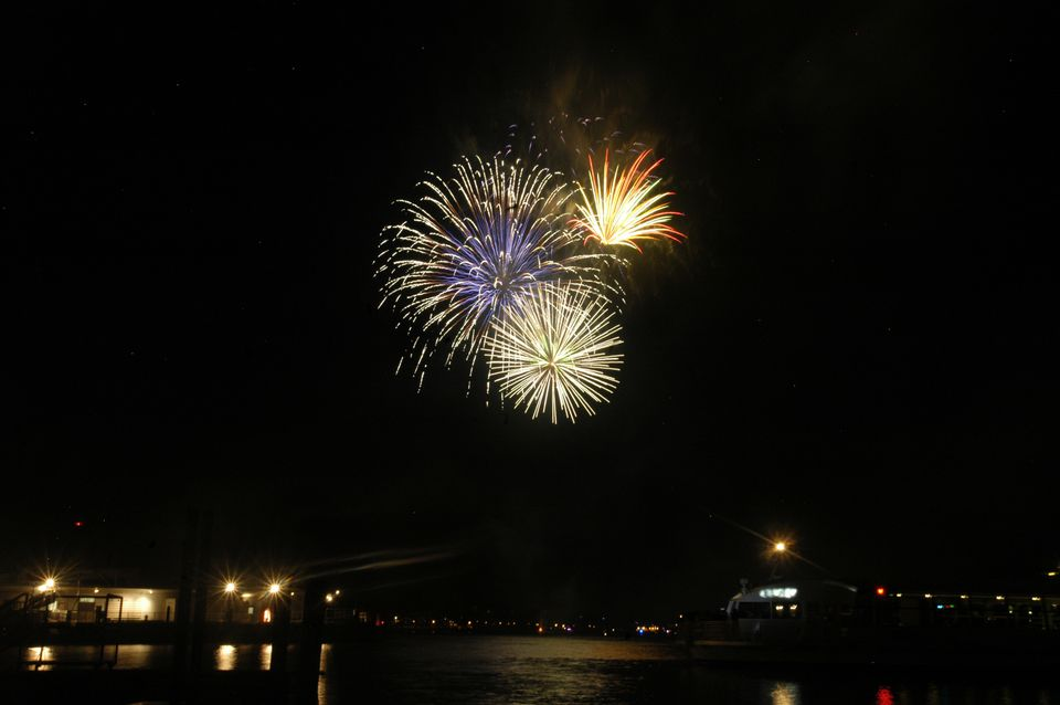 Fireworks on the Southwest Waterfront
