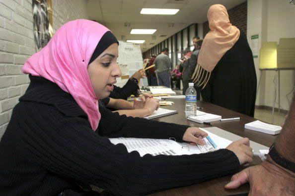 Arab-American worker