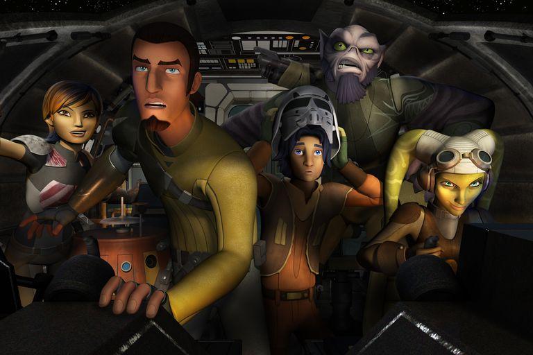 'Star Wars Rebels' Crew