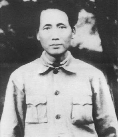 Mao's Soviet Republic of China was a small enclave in the Jiangxi mountains.
