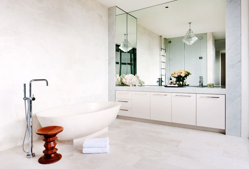 bathroom inspiration spa tub minimal - Bathroom Inspiration