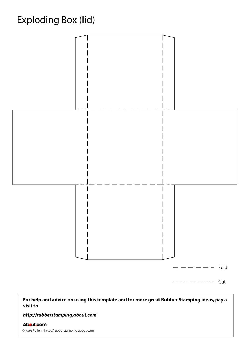 It's just a graphic of Revered Square Box Template Printable
