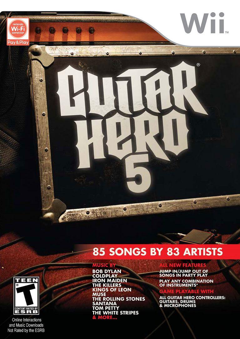 Guitar Hero 5 (Wii)