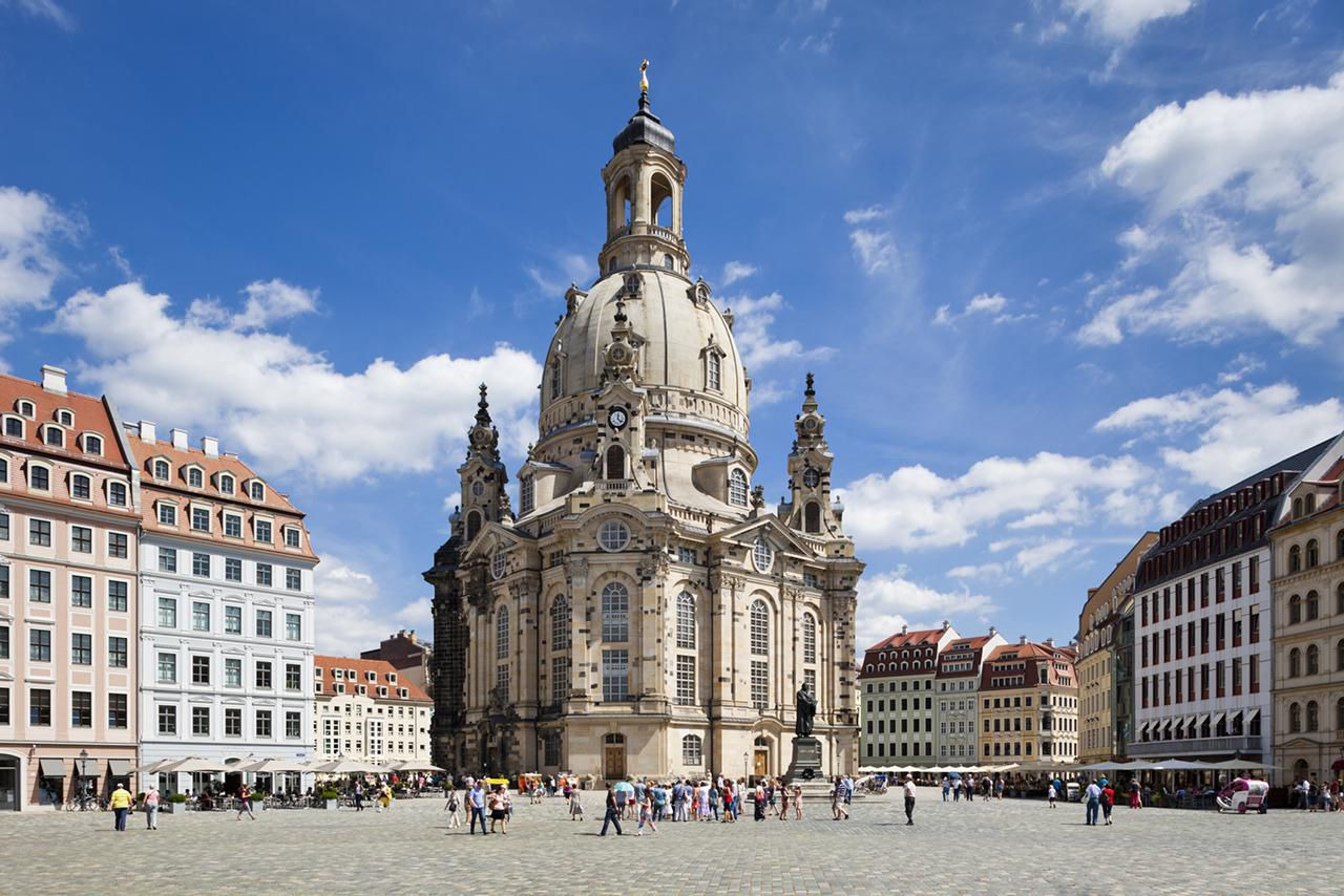 frauenkirche the church of our lady in dresden. Black Bedroom Furniture Sets. Home Design Ideas