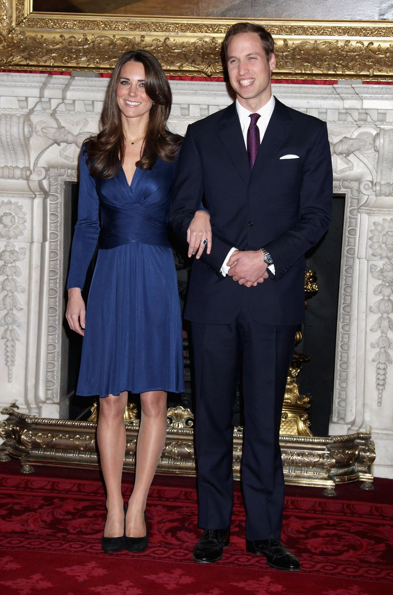 Party attire and dress codes for special occasions newly engaged kate middleton and prince william stopboris Gallery