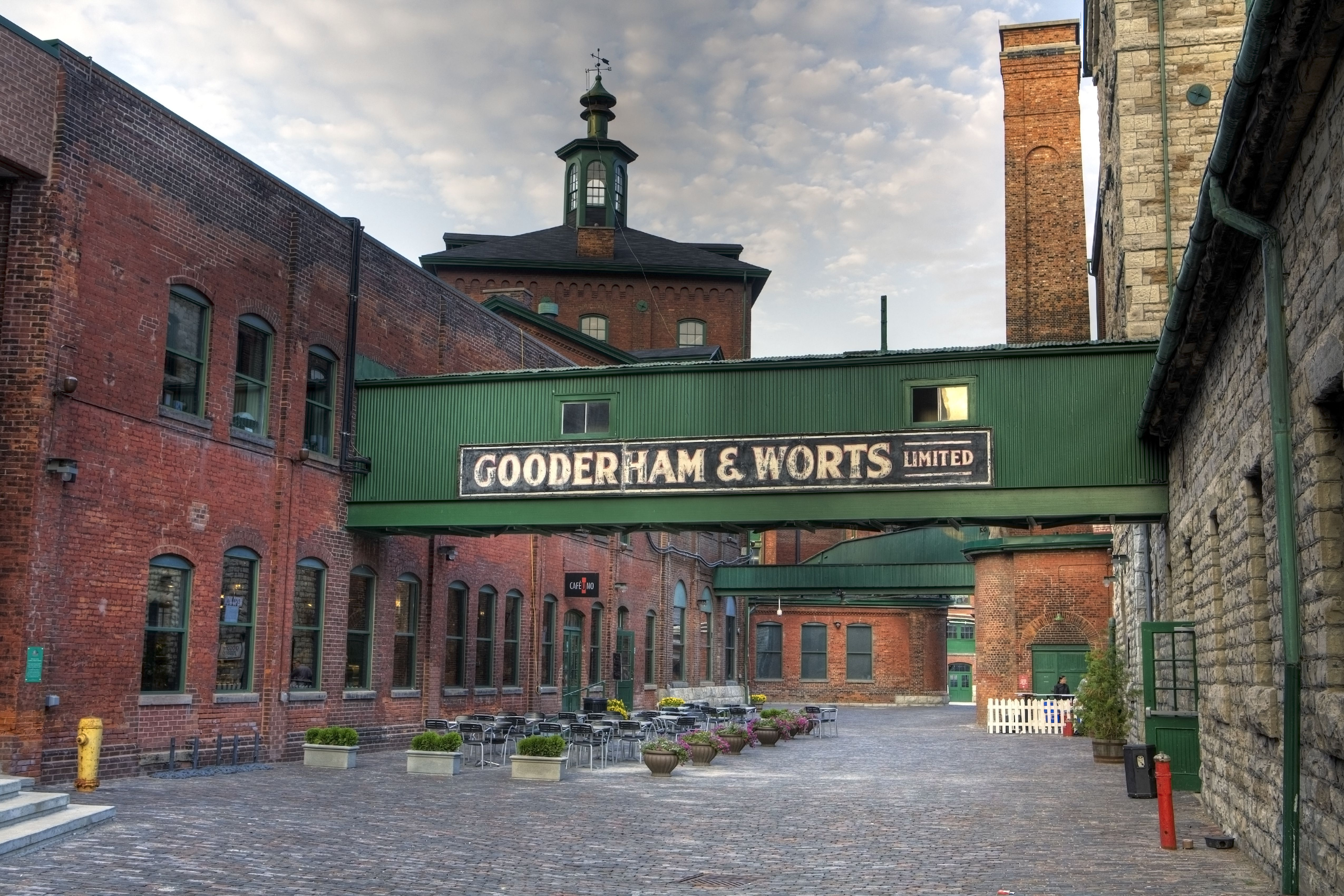 The Distillery District One Of Toronto S Coolest Hoods