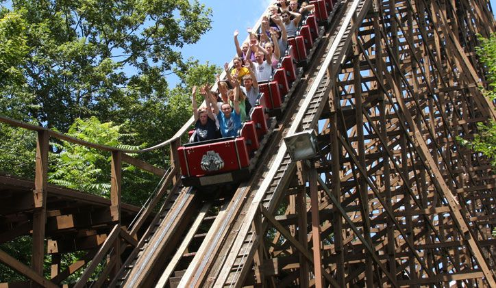 Review Of The Beast Roller Coaster At Kings Island