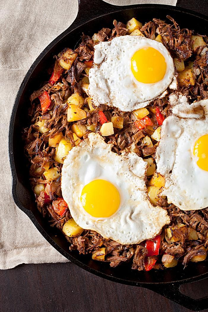 Brisket Hash And Eggs Recipe