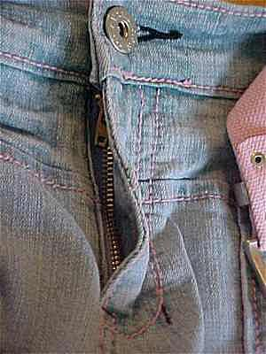 how to fix your zipper on your jeans