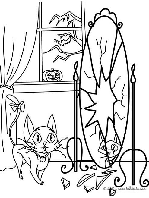 halloween coloring pages - Coloring Pages Kids Halloween