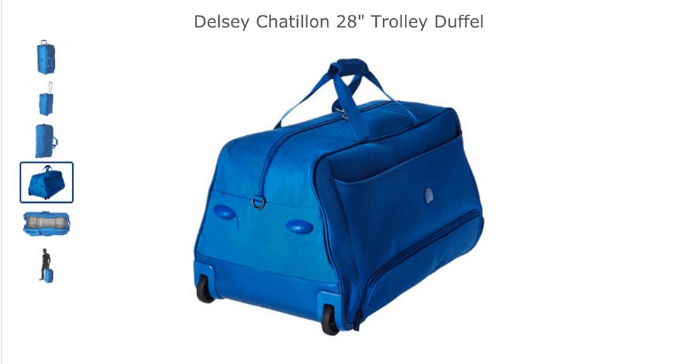 delsey duffel