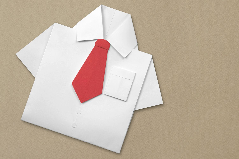 origami tie instructions
