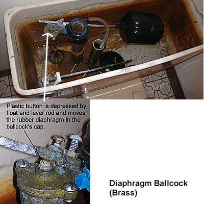 diaphragm ballcock
