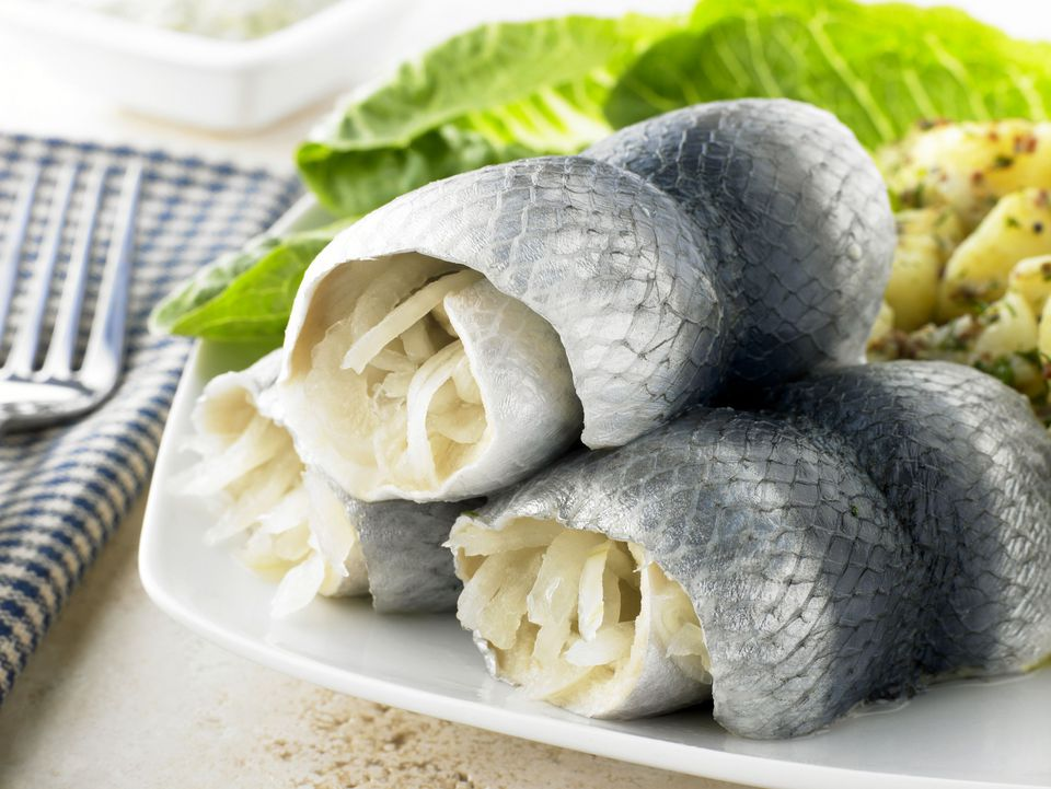 Herring Rollmops Appetizer