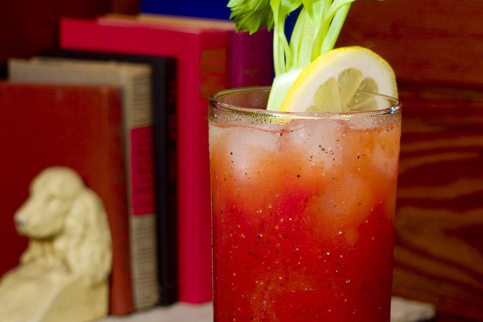 Forty Creek Caesar Cocktail