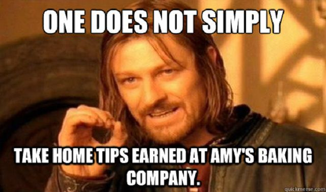 The Best Memes About Amy\'s Baking Company