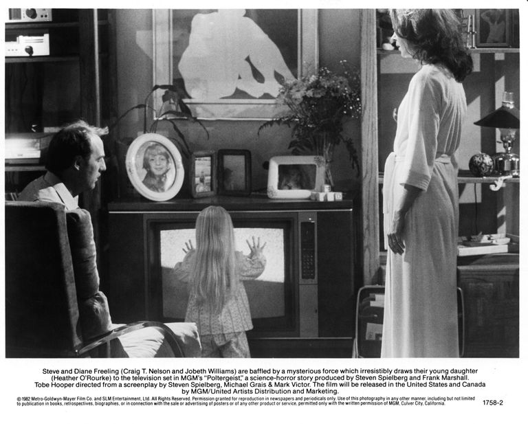 Craig T Nelson And JoBeth Williams In 'Poltergeist'