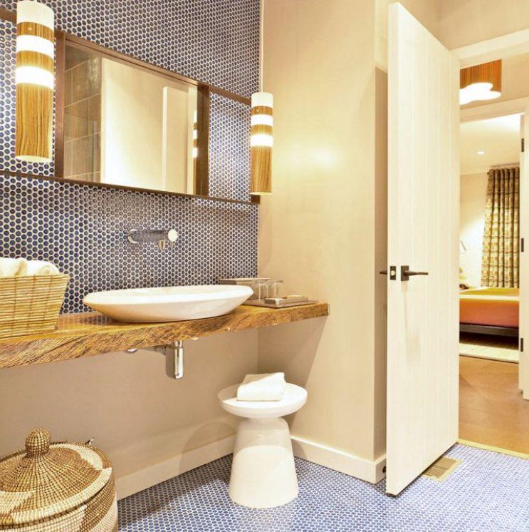 Bathroom Tiles Yellow the best tile ideas for small bathrooms