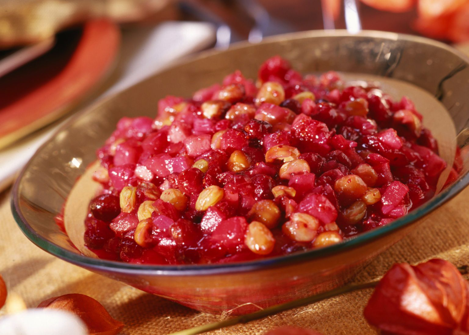 Cranberry And Pear Chutney Recipe