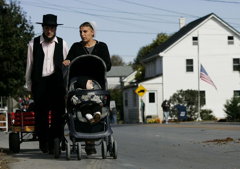 Amish Walking