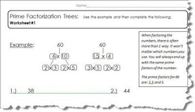 Simplifying Fractions Worksheet 4th Grade Pdf Powers Of  Multiplication Worksheets Preterito O Imperfecto Worksheet Excel with Finding Perimeter Worksheets Excel  Prime Factor Tree Worksheets  Multiplication Tables  Year Two Maths Worksheets Word