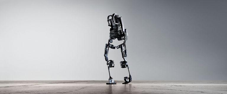 An Ekso Bionics exoskeleton