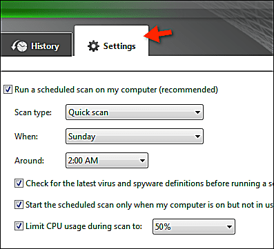 virus scan for iphone how to schedule scans with microsoft security essentials 4517