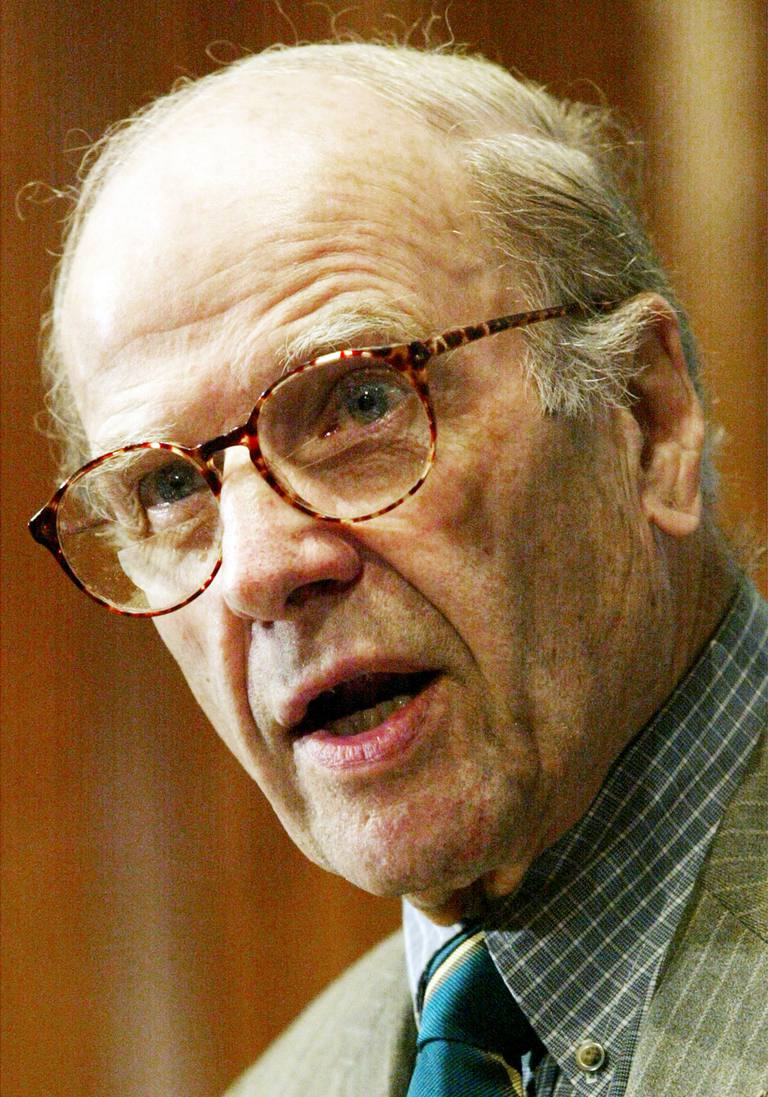 Founder Gaylord Nelson Speaks On Anniversary Of Earth Day