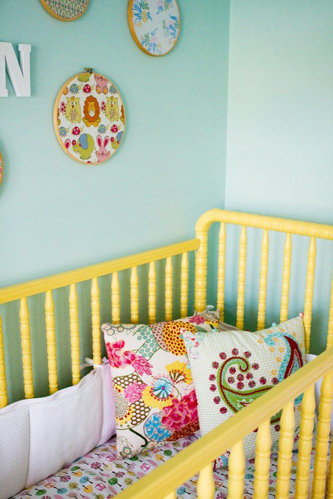 22 Ways to Create a More Colorful Nursery