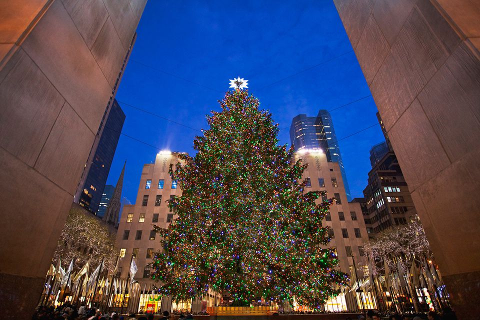 Christmas tree Rockefeller Center