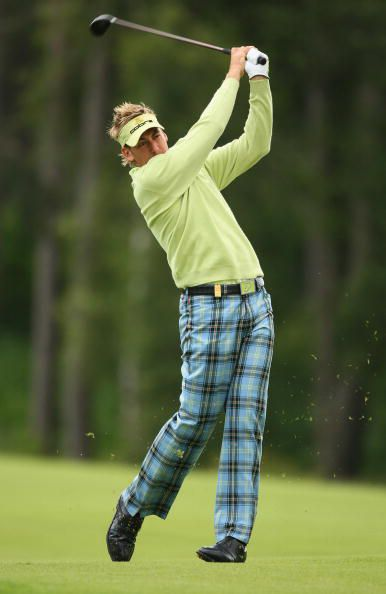 Fashion Show Ian Poulter 39 S Wild Golf Outfits