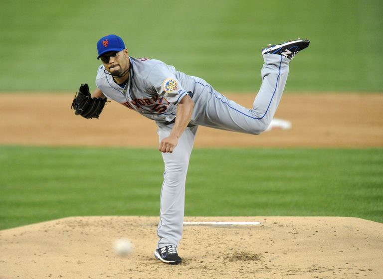 New York Mets v Washington Nationals - Johan Santana