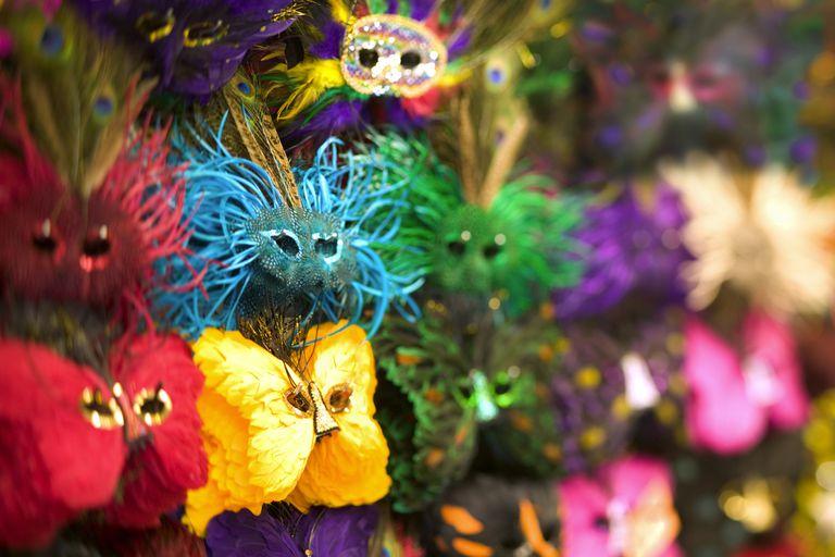Masks for Mardi Gras