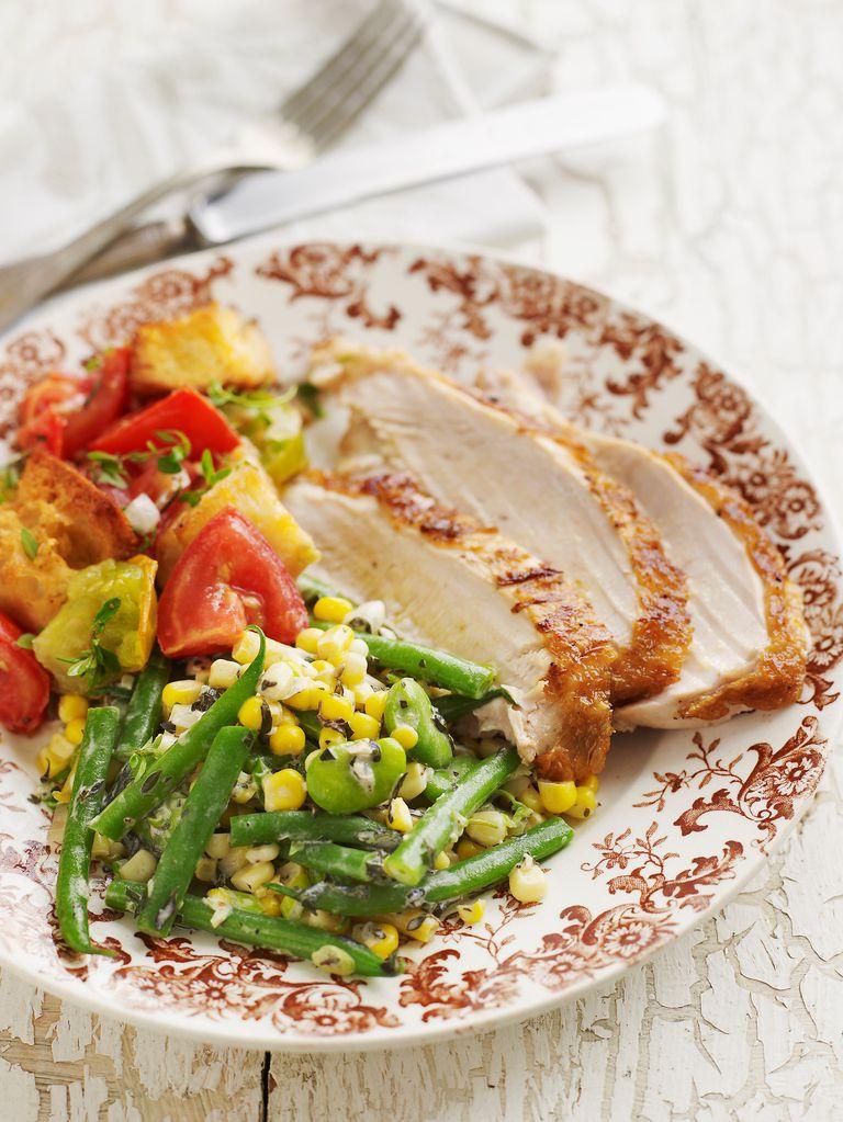 Chicken breast dinner