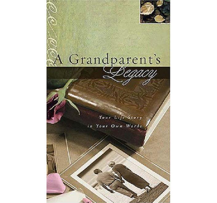 grandparent's legacy grandparent journal