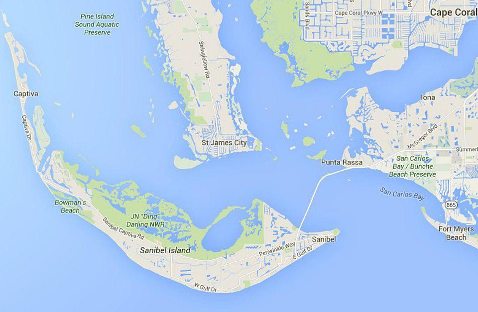 Sanibel Island Attractions Map: Maps Of Florida: Orlando, Tampa, Miami, Keys, And More