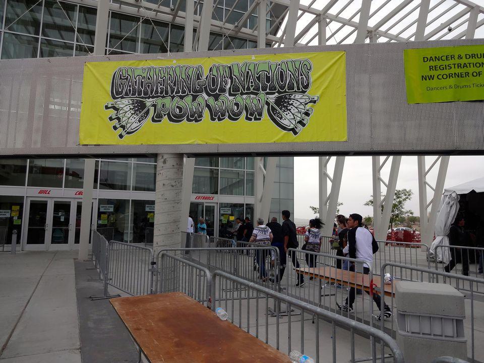 Entry to Pow Wow